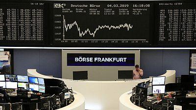 China's weak growth outlook stalls European stocks
