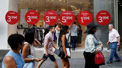 Euro zone retail January sales stronger than expected