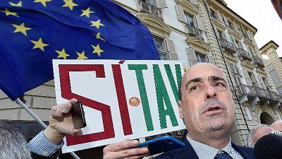 Tav: Zingaretti, maggioranza arrogante