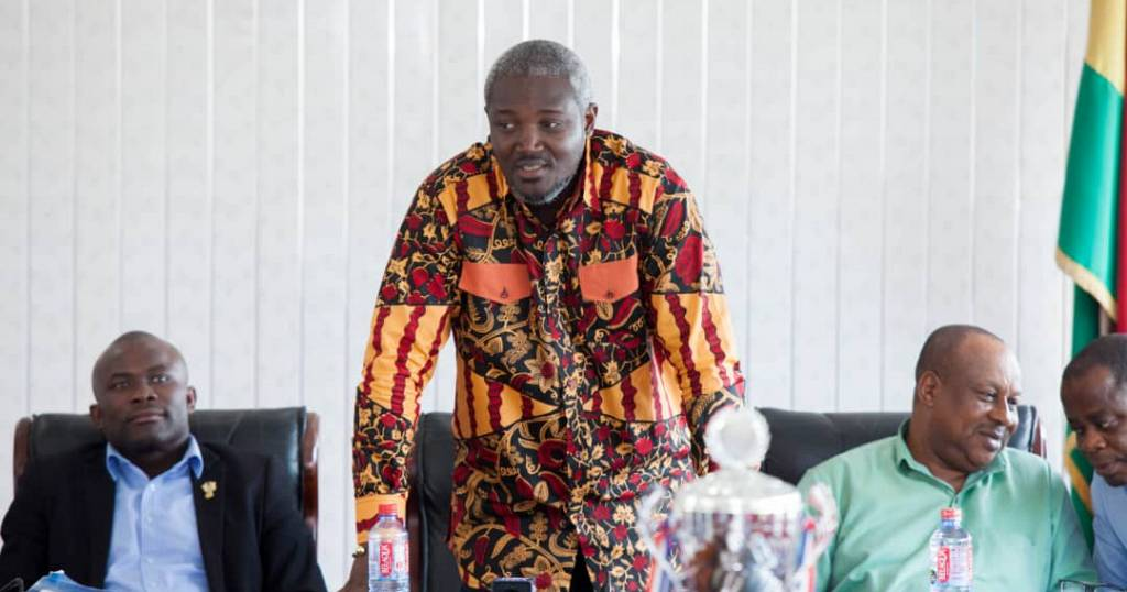 48abe1e889a Herbert Mensah shows appreciation to government for support to Ghana Rugby