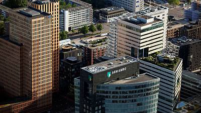 Dutch banks ABN Amro, ING fall after money laundering report