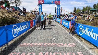 Tappa Tirreno-Adriatico per Scarponi