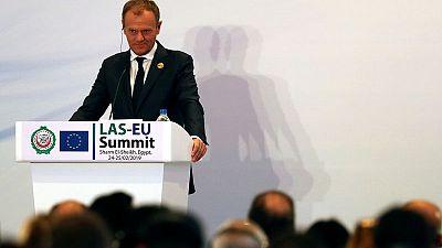 EU's Tusk warns of hostile meddling in European elections in May