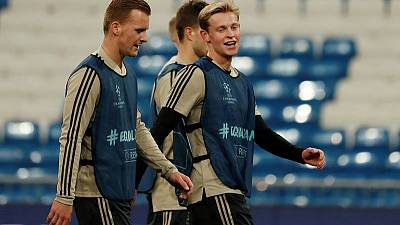 Barca told me to knock out Madrid, says Ajax midfielder De Jong