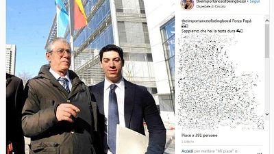 Bossi dimesso da ospedale Varese