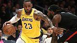 NBA: LeBron James ne veut pas 'tanker' la fin de saison des Lakers