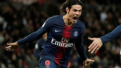 PSG's Cavani faces late fitness test for United clash