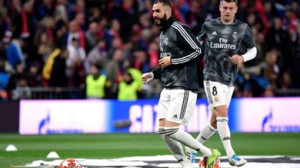 Le Real sans Bale et avec Nacho, l'Ajax comme attendu
