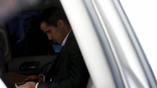 Venezuela's Guaido in talks with unions to call public sector strike