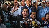 """Au Venezuela, Guaido prévient: """"La pression ne fait que commencer"""""""