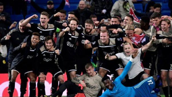Ligue des champions: exploit de l'Ajax, le Real éliminé, Tottenham en quarts