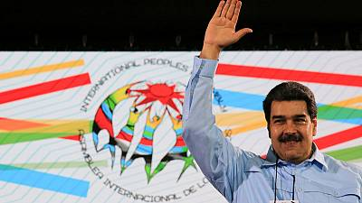 Venezuela's Maduro says he will defeat opposition