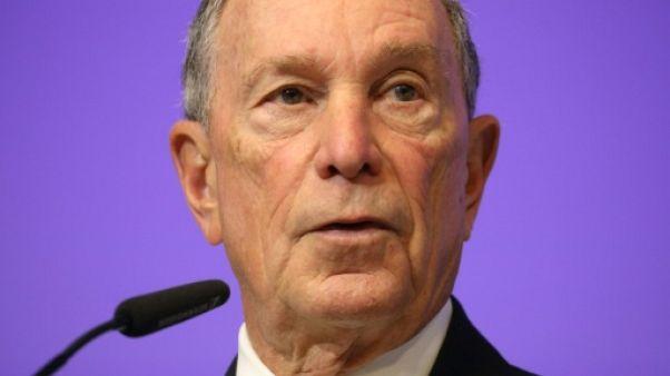 L'ancien maire de New York, Michael Bloomberg, le 22 mars 2018 à Bruxelles