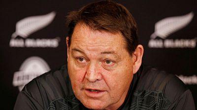 'Hunted' Ireland feeling the pressure, says All Blacks coach