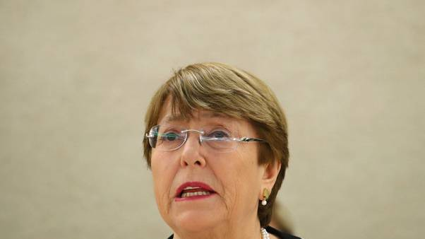 Bachelet presses China for U.N. access to Xinjiang's Uighurs