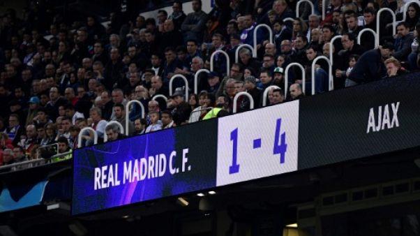 """Ligue des champions: la presse espagnole enterre le Real, """"ci-gît une équipe historique"""""""