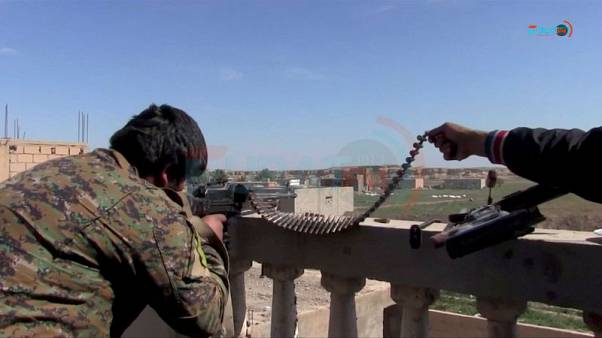 Hundreds more people leave besieged Islamic State pocket in Syria