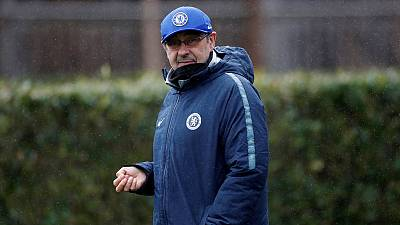 Sarri planning for next season at Chelsea