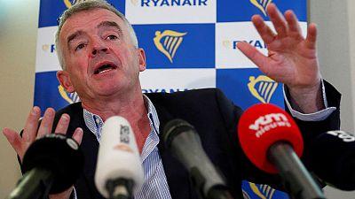 KLM boss seeks to ease airline row under mocking gaze of Ryanair