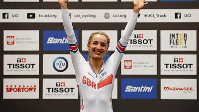 Cycling - World champion Barker wants Tokyo sister-act