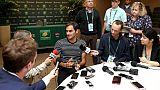 """Tennis: """"Je ne suis pas Superman"""", assure Federer"""