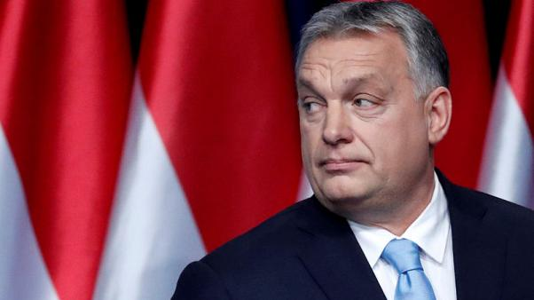 Hungarian daily urges Orban's Fidesz to quit EPP group