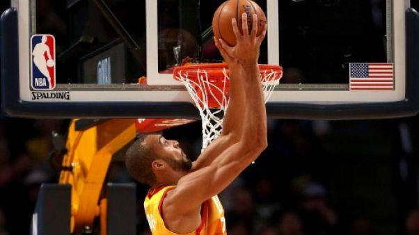 NBA: Gobert, survolté, éteint La Nouvelle-Orléans