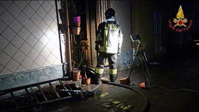 Incendio in casa, un morto intossicato