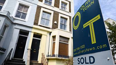 UK house prices jump in February - Halifax