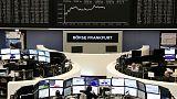 الأسهم الأوروبية تتراجع قبيل اجتماع البنك المركزي
