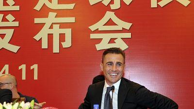 Calcio, Cannavaro ct Cina a interim