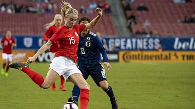 England's Lionesses take pride in team spirit ahead of World Cup