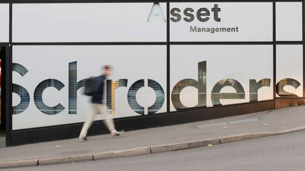Schroders FY pretax profit down 15 percent on higher costs, fall in assets