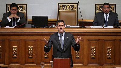 Venezuela's Guaido urges more sanctions after German envoy's expulsion
