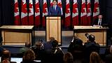 Under pressure, Canada's Trudeau denies impropriety, offers no apology