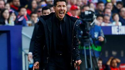 Simeone fined over goal celebration against Juventus