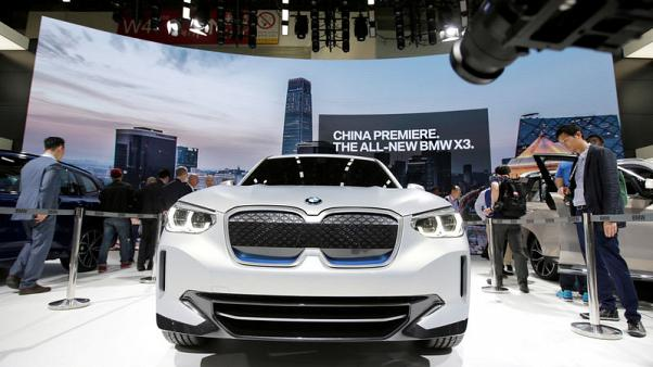 BMW's China electric car export plans on hold amid tariff uncertainty