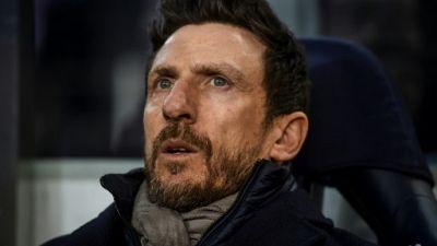 AS Rome: Di Francesco limogé au milieu d'une saison cauchemar