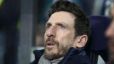 Roma part company with coach Di Francesco