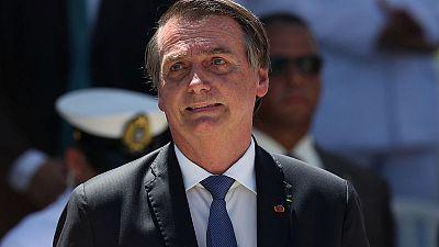 Brazil's Bolsonaro says democracy, liberty depend on military