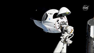 Musk's SpaceX capsule set to splash down Friday after space station stop