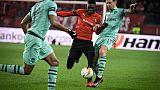 Ligue Europa: Rennes à 50% de l'exploit, Chelsea et Naples en bonne voie