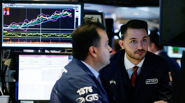 Global stocks, dollar fall as growth worry abounds