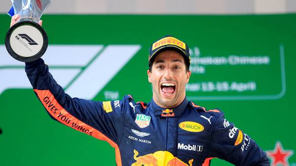 No regrets if Renault are chasing Red Bull, says Ricciardo