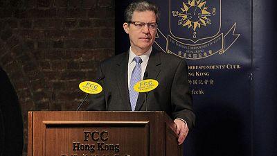 U.S. envoy for religious freedom slams China during Hong Kong visit