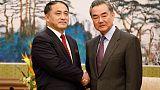 Senior China diplomat says Korean Peninsula issue cannot be resolve immediately