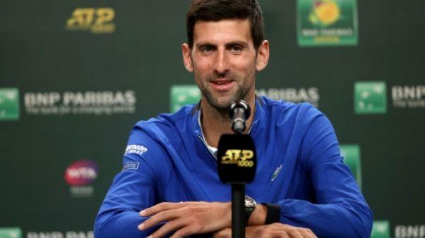 Tennis: Djokovic veut oublier à Indian Wells son cauchemar de 2018