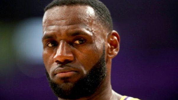 NBA: les Lakers vont ménager LeBron James en réduisant son temps de jeu