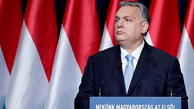 Hungary's Orban says his party could quit EU's conservative bloc