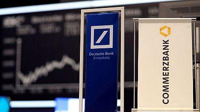 Deutsche Bank, Commerzbank have no mandate for merger talks - sources